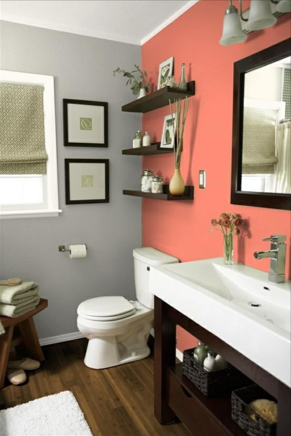 Farbideen-für-Wand-koralle-wand-im-badezimmer-mit-vielen-details