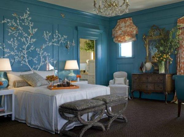 Farbideen-für-Wand-schlafzimmer-mit-deko-neo-romatisch
