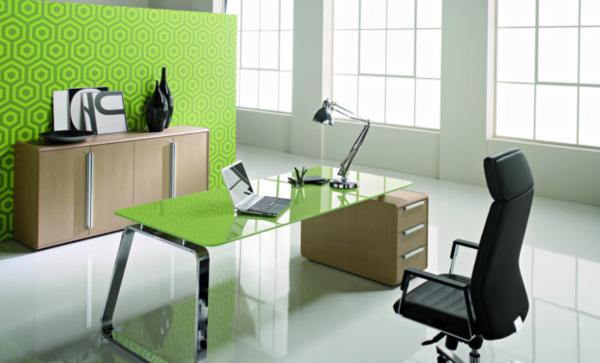 Arbeitszimmer farbe  Feng Shui im Arbeitszimmer - seien Sie noch effektiver! - Archzine.net