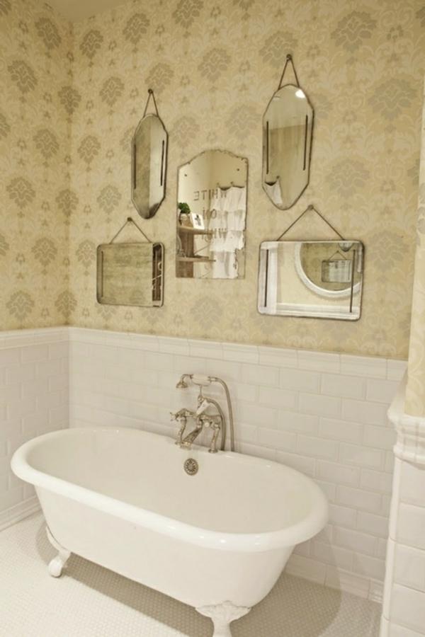 Abwaschbare Tapete Kleben : Auch die anderen Bilder zeigen wie sch?n das Badezimmer mit Tapeten