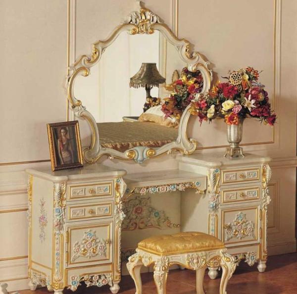 Make-Up-Tisch-weiße-möbel-ikea-vintage