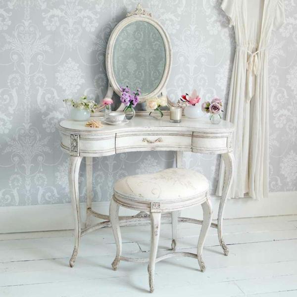 Make-Up-Tisch-weiße-möbel-ikea