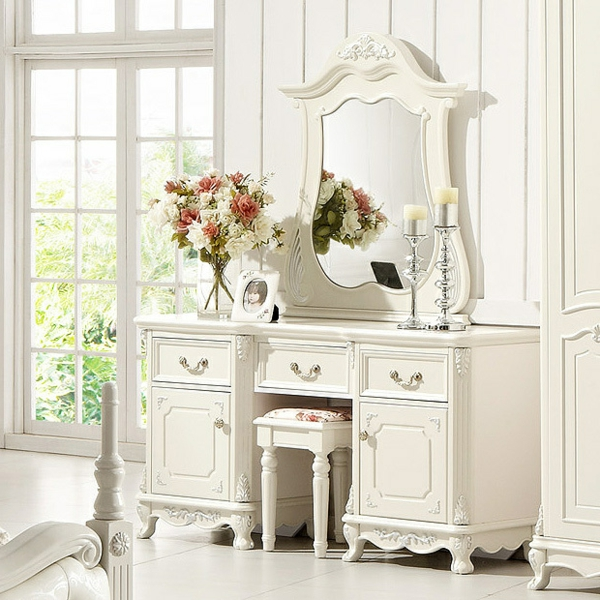 Make-Up-Tisch-weiße-möbel-luxus
