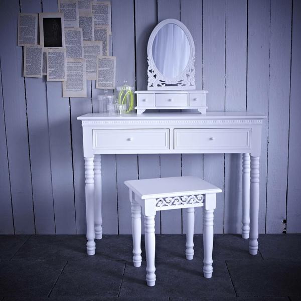 Make-Up-Tisch-weiße-möbel-spielel-rund