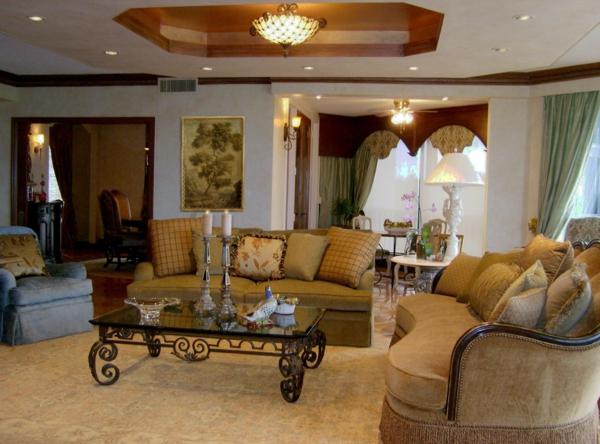 Mediterrane-Einrichtungsideen-prächtige-sofas