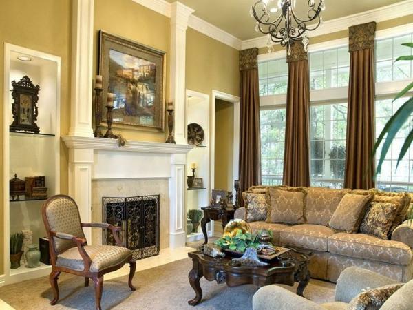 Mediterrane-Einrichtungsideen-sofas-in-beige