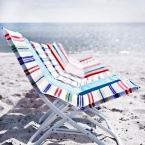 Richtig genießen auf dem richtigen Strandstuhl Ikea!