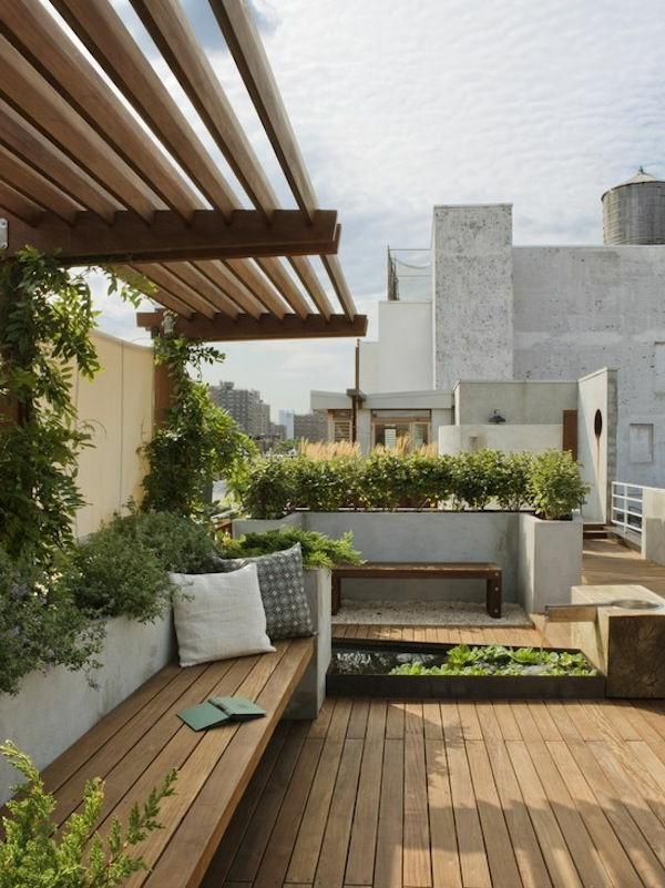 Terrassengestaltung-Beispiele-modern-urban-holz