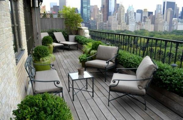 25 urban terrassengestaltung beispiele for Gartengestaltung urban