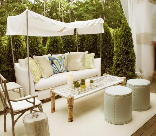 Terrassengestaltung-Beispiele-weiße-möbel