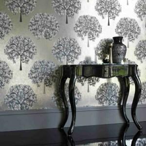 Wandfarbe mit einem Metalleffekt - super coole Bilder!