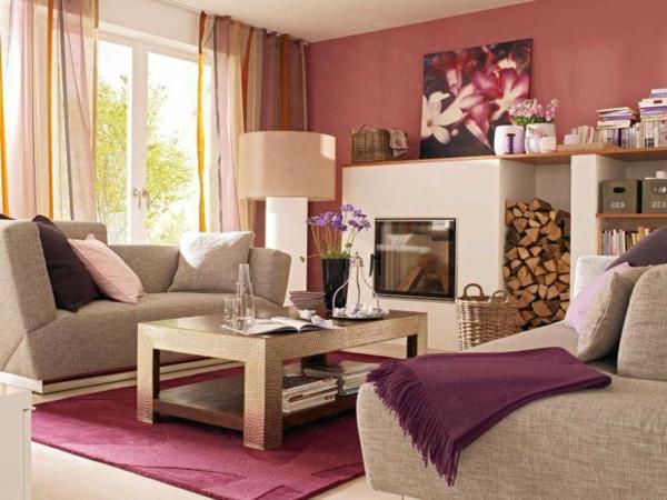 Altrosa wandfarbe den zeitgeist genie en - Altrosa wandfarbe ...