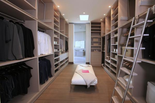 Ankleidezimmer beispiele  Ankleidezimmer planen - nur ein Traum oder? - Archzine.net