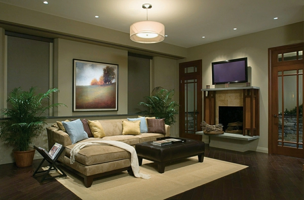 Family Room Ceiling Fan Ideas