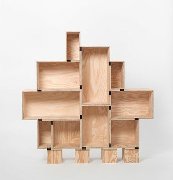 bücherregal-selber-bauen-extravagante-form