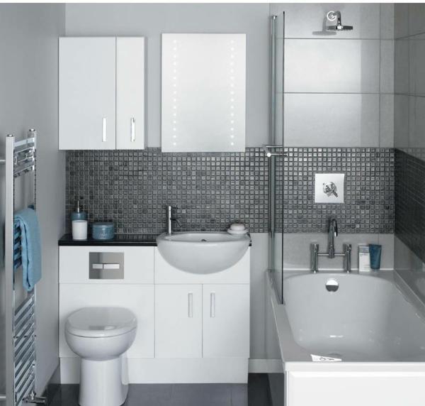 Schön Badezimmer 2 Graue Farbe