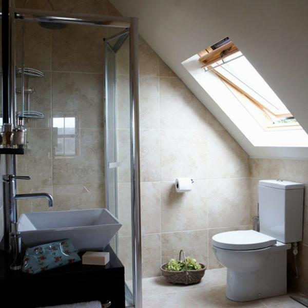 Möchten Sie Ein Traumhaftes Dachgeschoss Einrichten? 40 Tolle ... Badezimmer Im Dachgeschoss Dachschrge