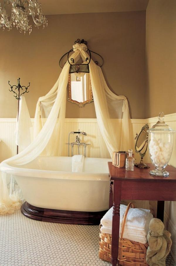 badezimmergestaltung-ideen-bett