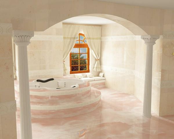 badezimmergestaltung-ideen-milch-und-weiß