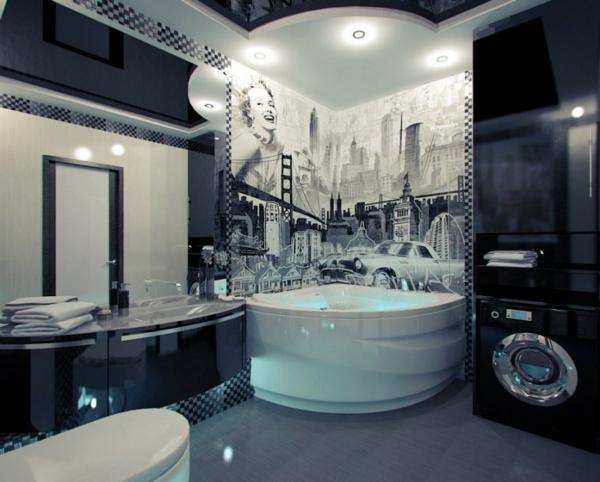 badezimmergestaltung-ideen-retro