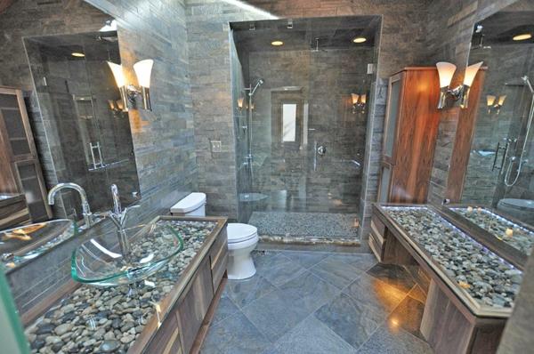 badezimmergestaltung-ideen-steinig