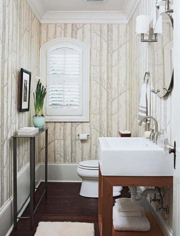 badideen-schöne-helle-wandtapeten-für-kleines-bad