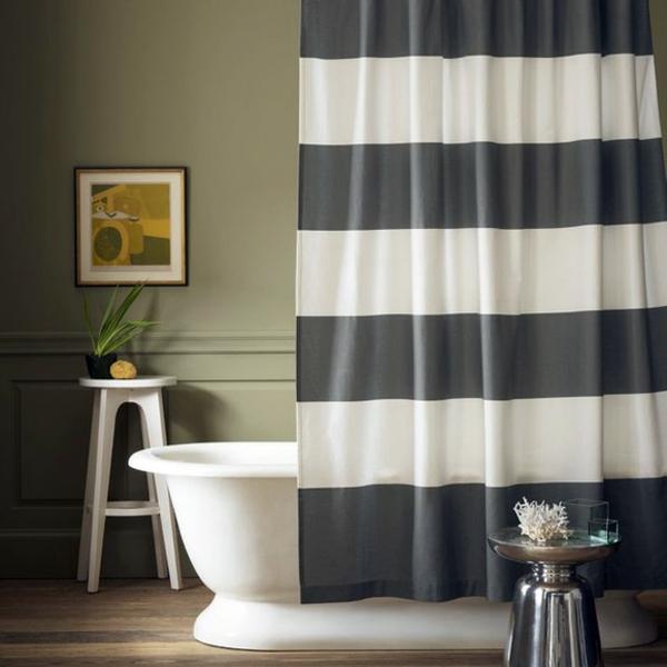 badvorhang-schwarz-weiße-dekoration