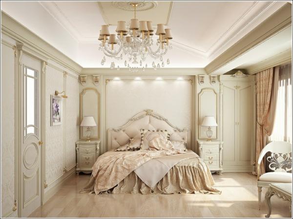 Vintage Schlafzimmer - Wohndesign