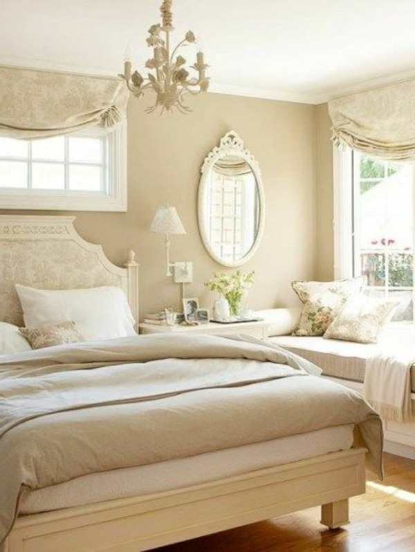 schlafzimmer beige wei