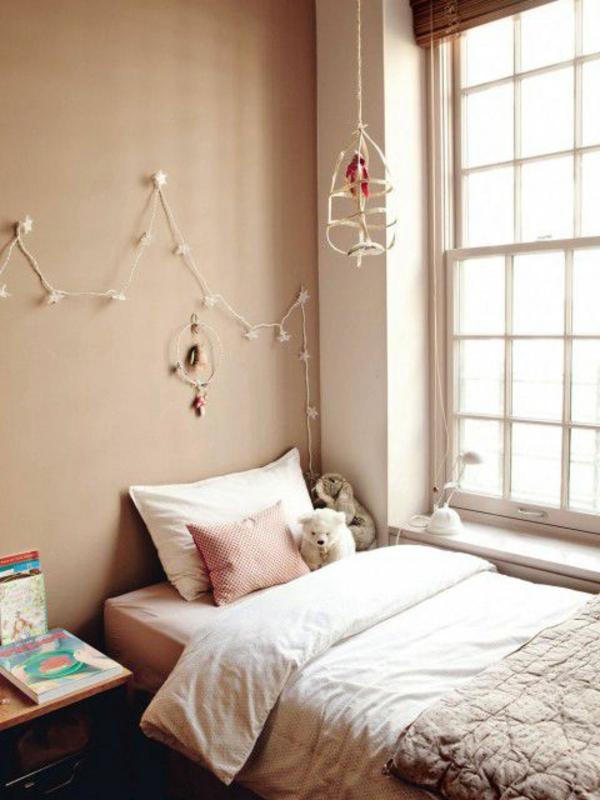 beige-farbtöne-schlarzimmer-gestaltungsideen