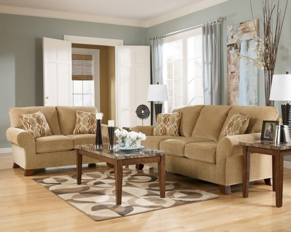 20 Beispiele für ein Beige Sofa zu Hause! - Archzine.net