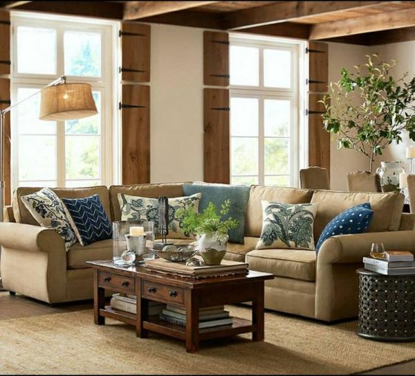 Depumpinkcom Wohnzimmer Blau Beige   Wohnzimmer Beige Sofa