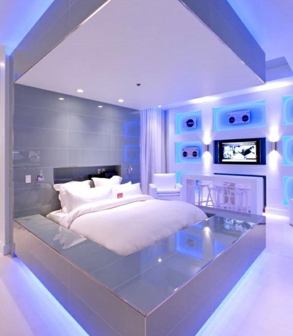 Diese Led U2013 Bettleuchte Fürs Bett Passen Perfekt Zum Interieur Des Zimmers.