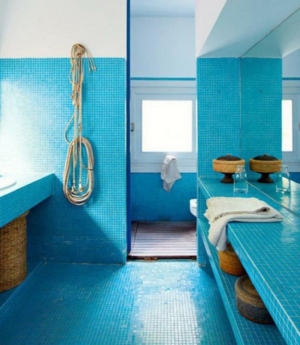 blaue-bodenfliesen-design