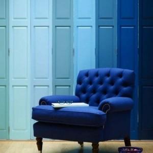 Einrichten mit Farben: Blaue Farbtöne für ein Meer zu Hause
