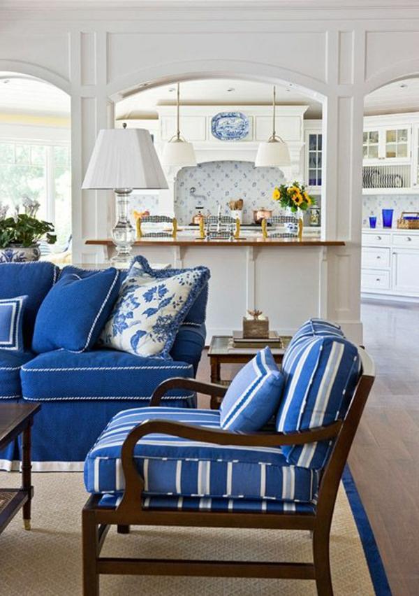 Einrichten mit Farben: Blaue Farbtöne für ein Meer zu Hause ...