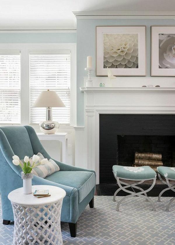 Einrichten Mit Farben Blaue Farbtne Fr Ein Meer Zu Hause With Wohnzimmer  Farben Blau
