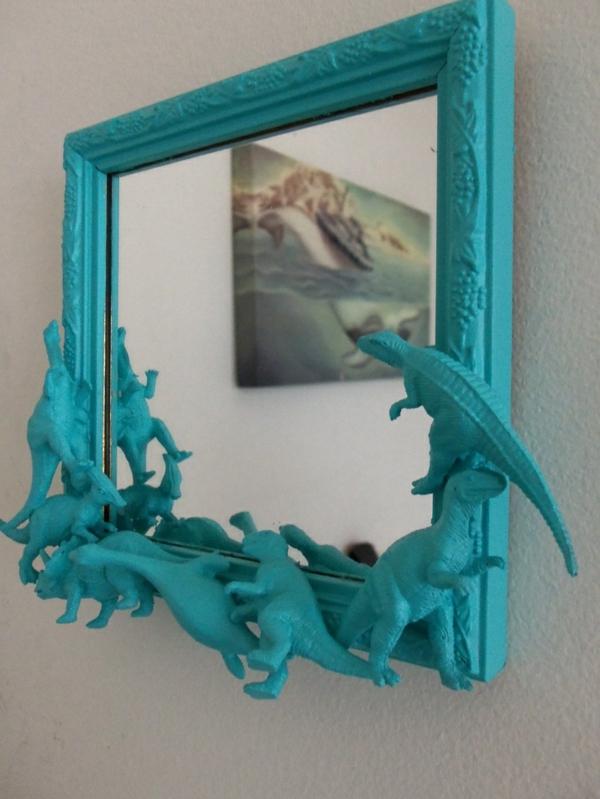 blaue-farbtöne-akzent-spiegel