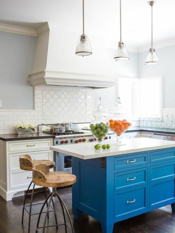 Berühmt Top Küche Farben Mit Eichenschränken Fotos - Küchenschrank ...