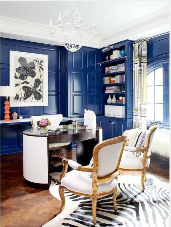 blaue-farbtöne-blaue-wohnzimmer-wandgestaltung34