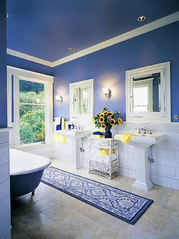 blaue-farbtöne-blaue-wohnzimmer-wandgestaltung4