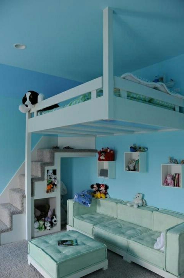 Awesome Kinderzimmer In Blau Gallery - Thehammondreport.com ...