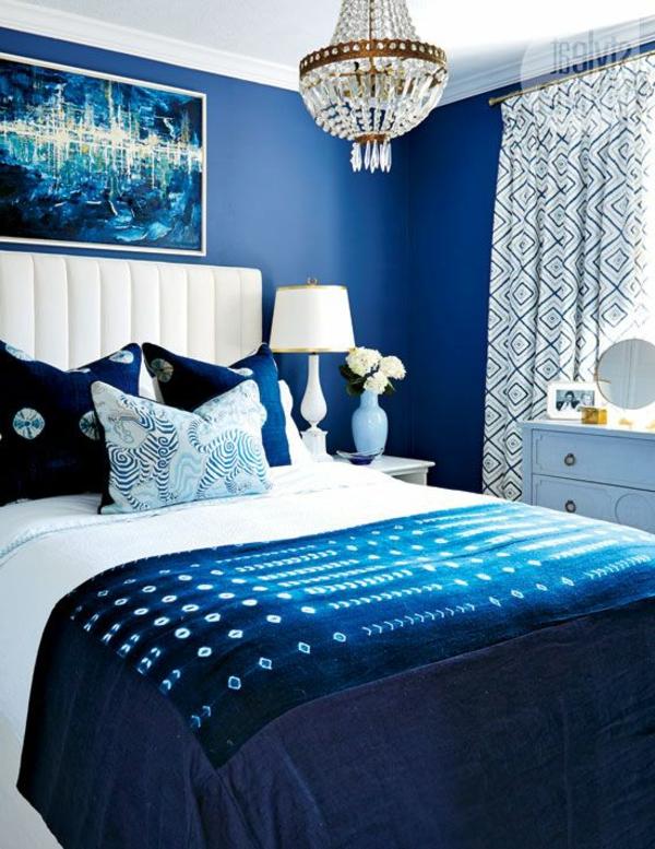 blaues schlafzimmer | Möbelideen