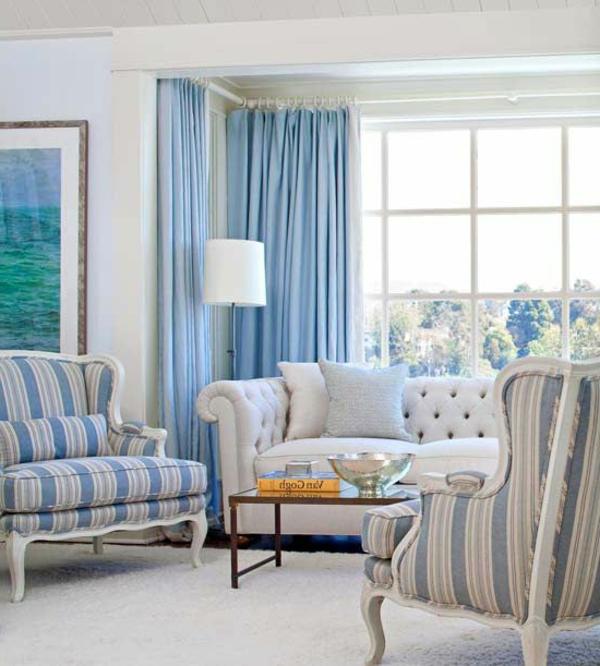 blaue-farbtöne-wohnzimmer-sofa