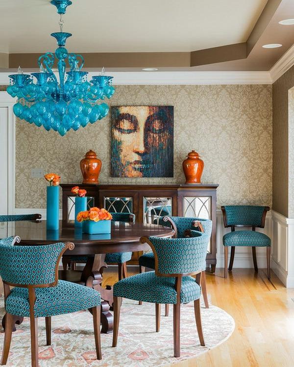 blaue-stühle-esszimmer