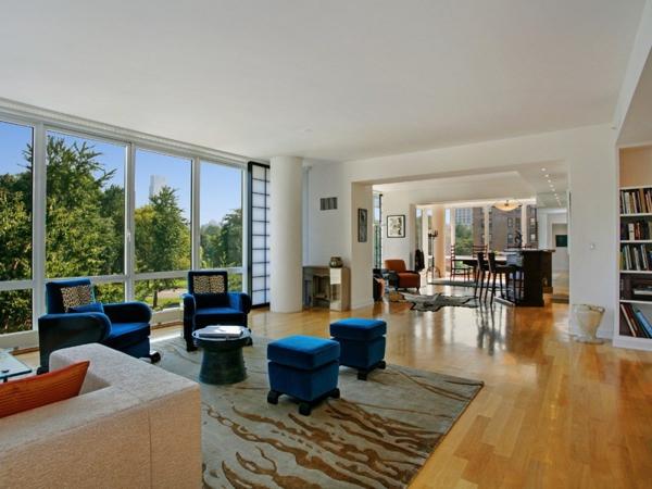 blaue-stühle-innen-design