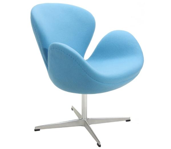 blaue st hle und sessel eine moderne design. Black Bedroom Furniture Sets. Home Design Ideas