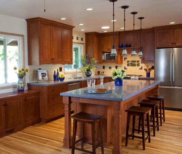 braune-möbel-küche
