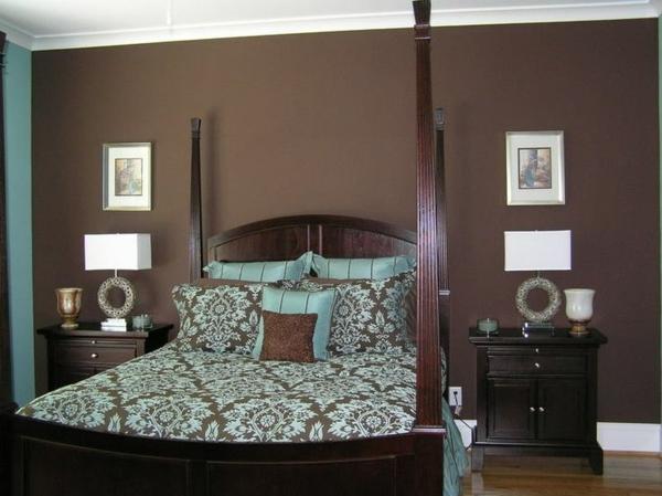 braune-möbel-schlafzimmer