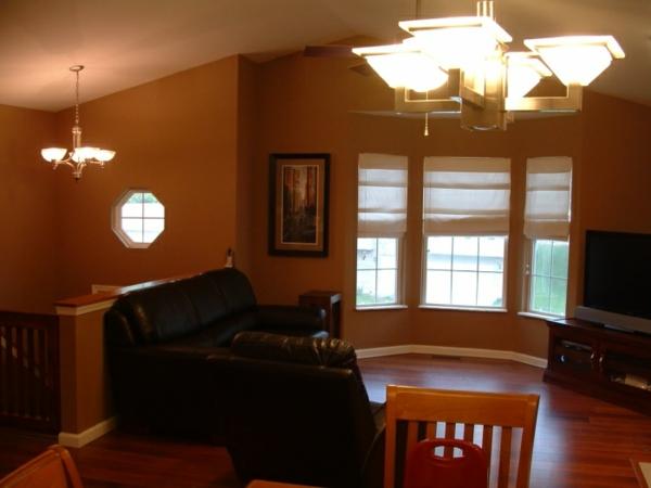 farbe wohnzimmer braune möbel:Einrichten mit Farben : Braune Möbel ...